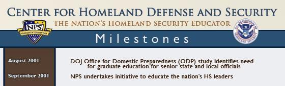 CHDS MIlestones Poster