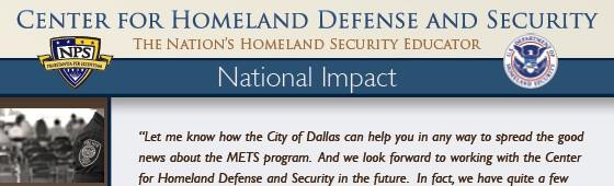CHDS National Impact