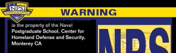 DVD/CD Warning Screen