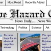 Cape Hazard Chronicle (influenced by nytimes.com)