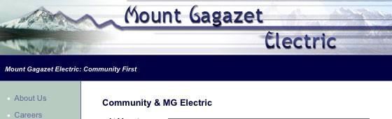 Cape Hazard Electric Website