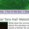 Tara Hall Environmental Website
