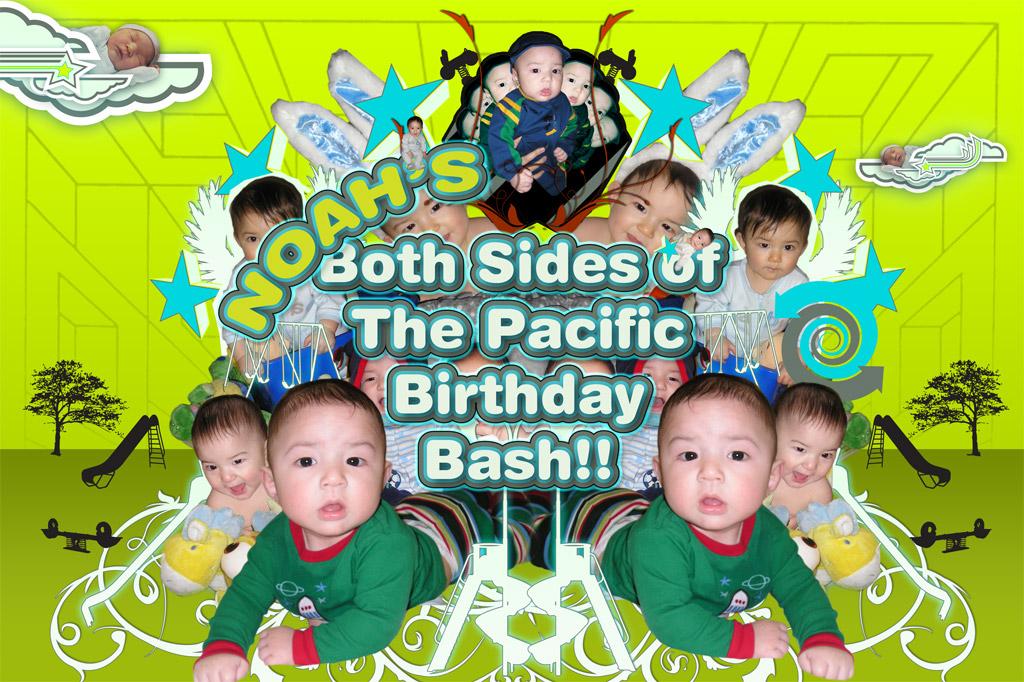 Birthday Bash Flyer Front